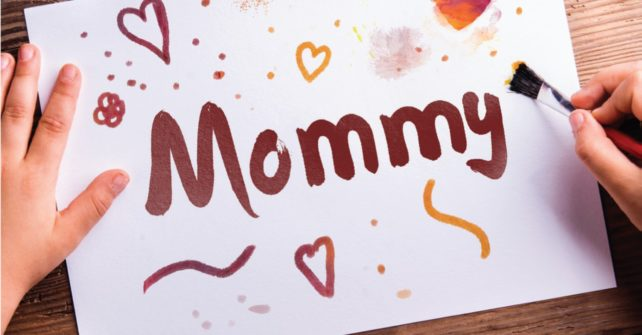 Family Fun Day: Making Crafts for Mom!